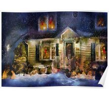 Christmas - The night before Christmas - painted Poster