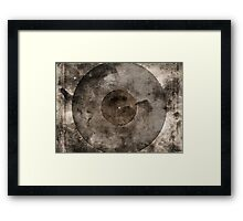 Vintage Vinyl Records Retro Music DJ Art - Old Vinyl Framed Print