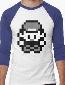 Pokemon Trainer Red (Generation 1 Red/Green/Blue) Men's Baseball ¾ T-Shirt