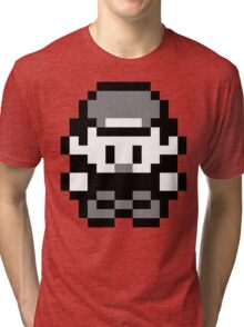 Pokemon Trainer Red (Generation 1 Red/Green/Blue) Tri-blend T-Shirt