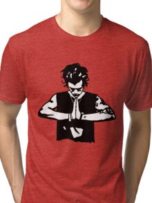 Harry Styles Silhouette Drawing  Tri-blend T-Shirt