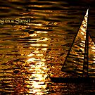 Sailing on a Sunset by saleire
