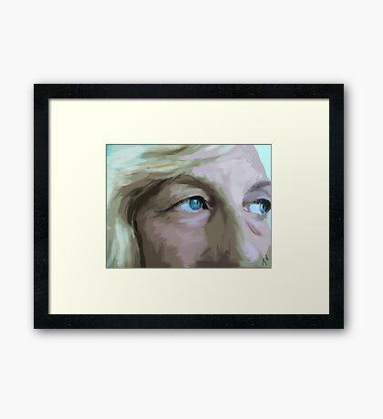 My Baby Blues Framed Print