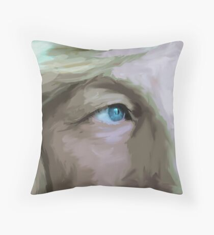 My Baby Blues Throw Pillow