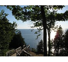 Ellison Bluff Scenic Overview - Door County, Wisconsin Photographic Print