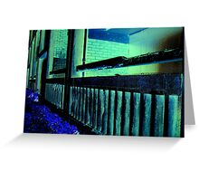 Balustrade Greeting Card