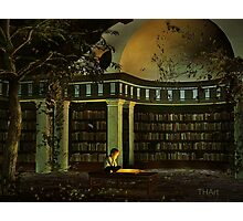 The Library Photographic Print