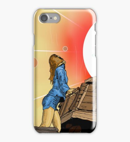 The coward iPhone Case/Skin