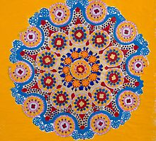 Doily Joy- Original Mandala by Auna Salomé Moorea