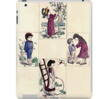 The Little Folks Painting book by George Weatherly and Kate Greenaway 0141 iPad Case/Skin