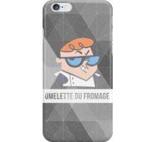 Dexter's Lab Omelette du Fromage iPhone Case/Skin