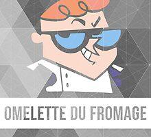 Dexter's Lab Omelette du Fromage by sierrawheeler