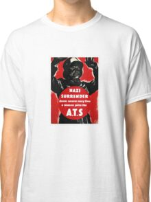 Join The A.T.S. -- WWII Propaganda Classic T-Shirt