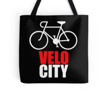 VeloCity Version 2 Red White Tote Bag