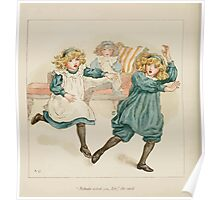 The April Baby's Book of Tunes by Elizabeth art Kate Greenaway 1900 0112 Nobody Asked You Sir Poster