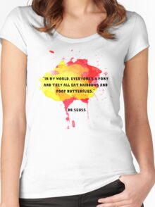 Funny Quote Women's Fitted Scoop T-Shirt