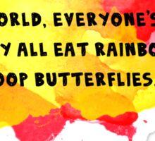 Funny Quote Sticker