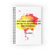 Funny Quote Spiral Notebook