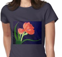 Attention, I am here! Womens Fitted T-Shirt