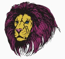 Lion Modern Pop Colors Kids Clothes