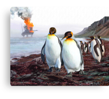 Mission Accomplished George. What's Next? Canvas Print
