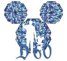 Disneyland 60_Walt & Mickey Mouse by AngieBee