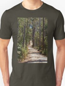 On A Country Road Unisex T-Shirt