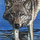 Wolf #9 by artbyakiko