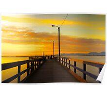 Crescent Beach - Boardwalk Poster
