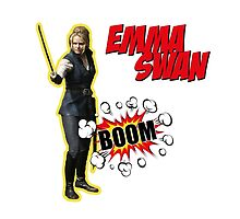 Emma Swan - BOOM  by queequeg35