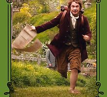 """I'm going on an Adventure!"" - Bilbo Baggins by esperjester"