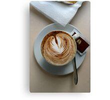 Cafe, Como Italy Canvas Print