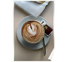 Cafe, Como Italy Poster