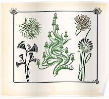 Maurice Verneuil Georges Auriol Alphonse Mucha Art Deco Nouveau Patterns Combinaisons Ornementalis 0046 Poster
