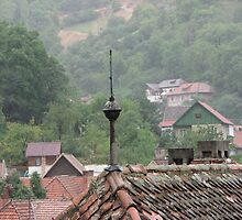 Clay Tile Rooftop by CherylC