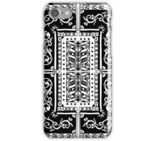 Back of a Card iPhone Case/Skin