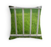 Trapping Mr. Green Throw Pillow
