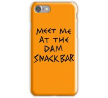 The Dam Snack Bar iPhone Case/Skin