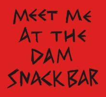 The Dam Snack Bar One Piece - Short Sleeve