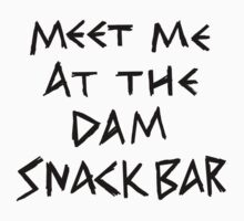 The Dam Snack Bar One Piece - Short Sleeve