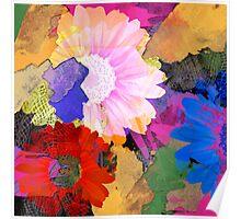The Flower Palette Poster
