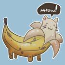 Banana Kitty  by SaradaBoru