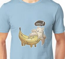 Banana Kitty  Unisex T-Shirt