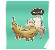 Banana Kitty  Poster