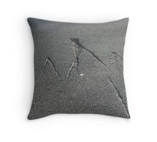 Markings Throw Pillow
