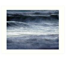 shifting seas Art Print