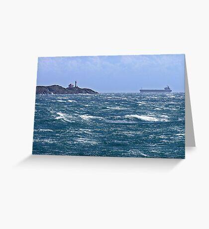 Safe Passage Greeting Card