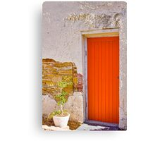 Door a L'Orange Canvas Print