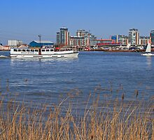 Busy River Thames by Hertsman