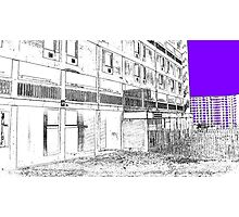 The Link , Parkhill, Sheffield, Uk Photographic Print